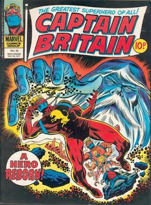 Marvel UK, Captain Britain #33