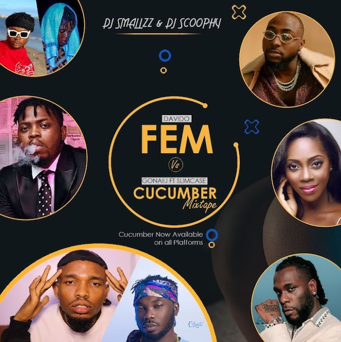 Mixtape: DJ Smallzz & DJ Scoophy – Davido FEM! vs Cucumber Mix