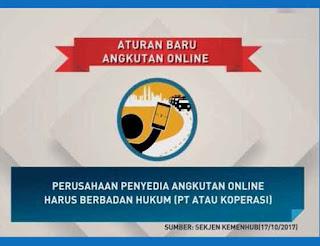 Peraturan Baru Taxy Online