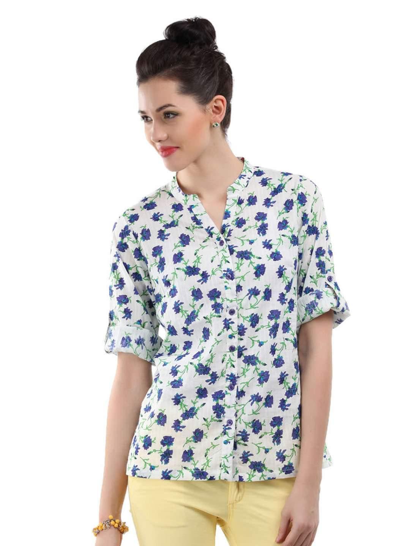 camisas femininas estampadas