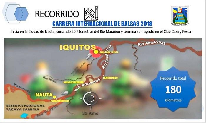 Carrera Internacional de Balsas
