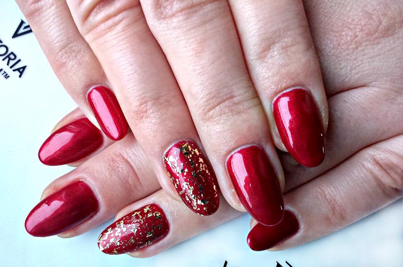 Immenseness Bloguje Mój świąteczny Manicure Hybrydowy 118 Right