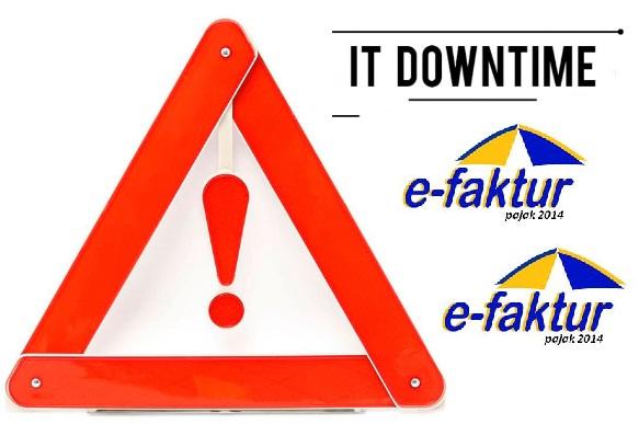 Pengumuman Downtime e-Faktur 01 Februari 2019