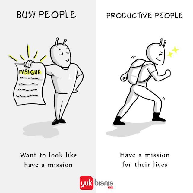 Ciri orang produktif
