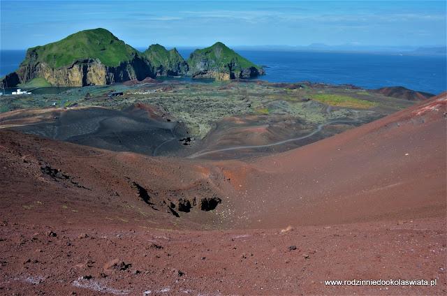 Islandia- Wyspy Vestmannaeyjar i gorąca rzeka Reykjadalur