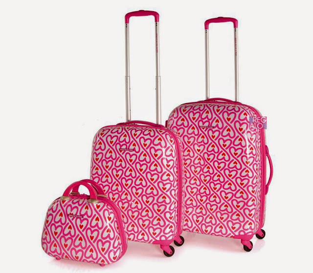 Resultado de imagen para maletas rosas