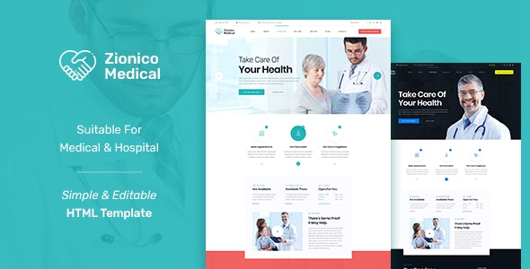 Best Health and Medical Website Template