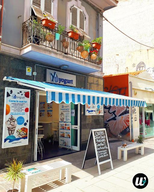 Yoghurt Gelateria, Cagliari | Sardinia, Italy | wayamaya