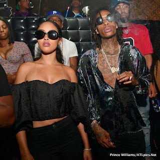 Wiz Khalifa Parties with his girlfriend,Izabela in Los Angeles