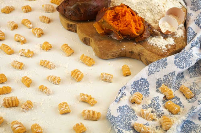 como hacer ñoquis de boniato camote o batata dulce
