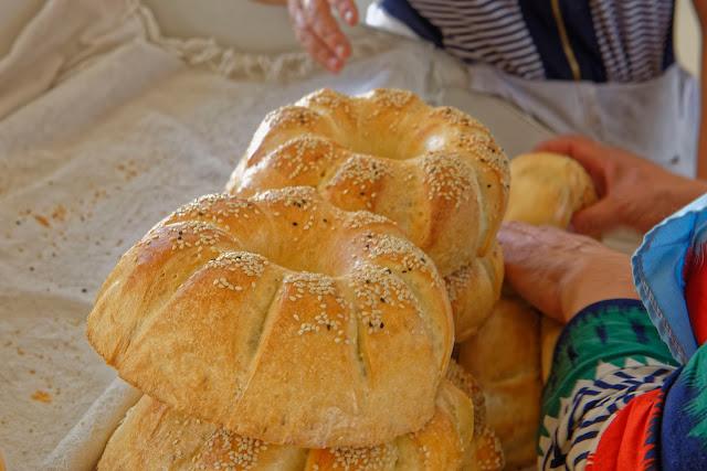 Brotkunst in Usbekistan