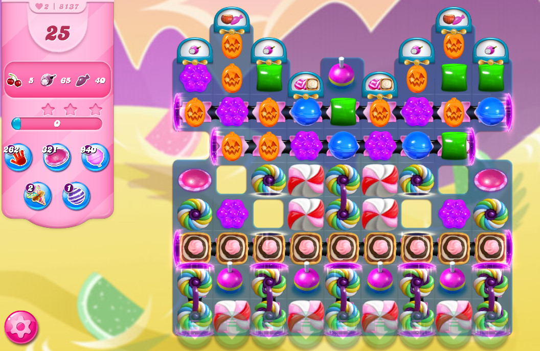 Candy Crush Saga level 8137