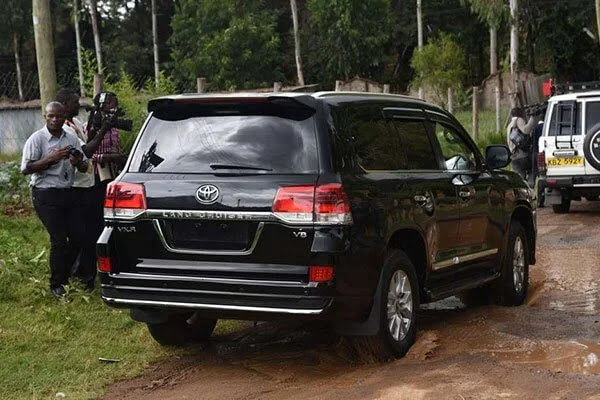 Echesa fraudulently acquired V8. PHOTO | NMG
