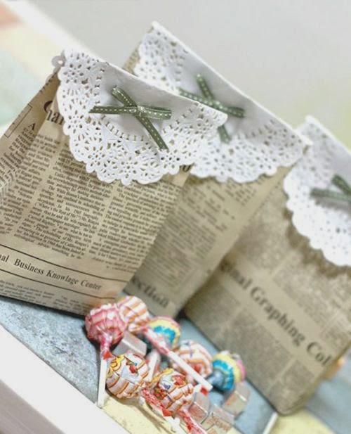 Kerajinan Tangan Dari Koran, Aneka Kreasi Kertas Koran Bekas 8