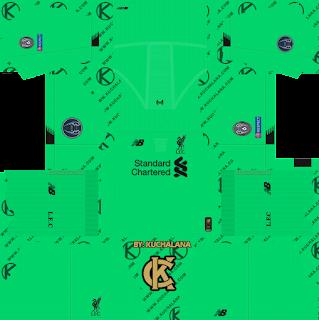Liverpool FC 2019/2020 champions league Kit - Dream League Soccer Kits