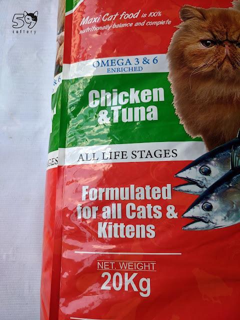 Harga Makanan Kucing Maxi 20 kg