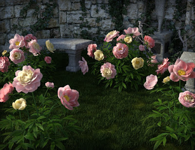 Poseable Peonies