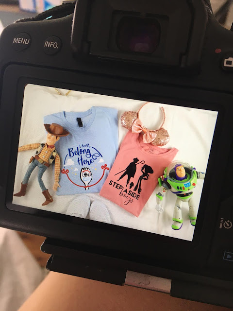 Toy Story 4 Disney T-Shirts made with the Cricut Maker