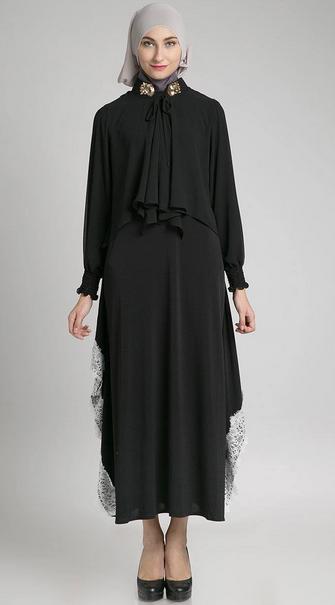 Baju Hamil Wanita Muslim Lebaran