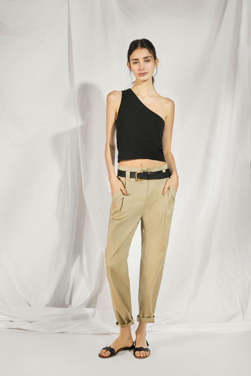 musculosas un solo hombro moda mujer 2021 ropa