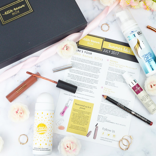 Little Known Box July 2017 The Summer Edit Review