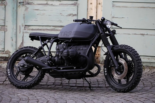 BMW R80RT By Angry Motors Hell Kustom