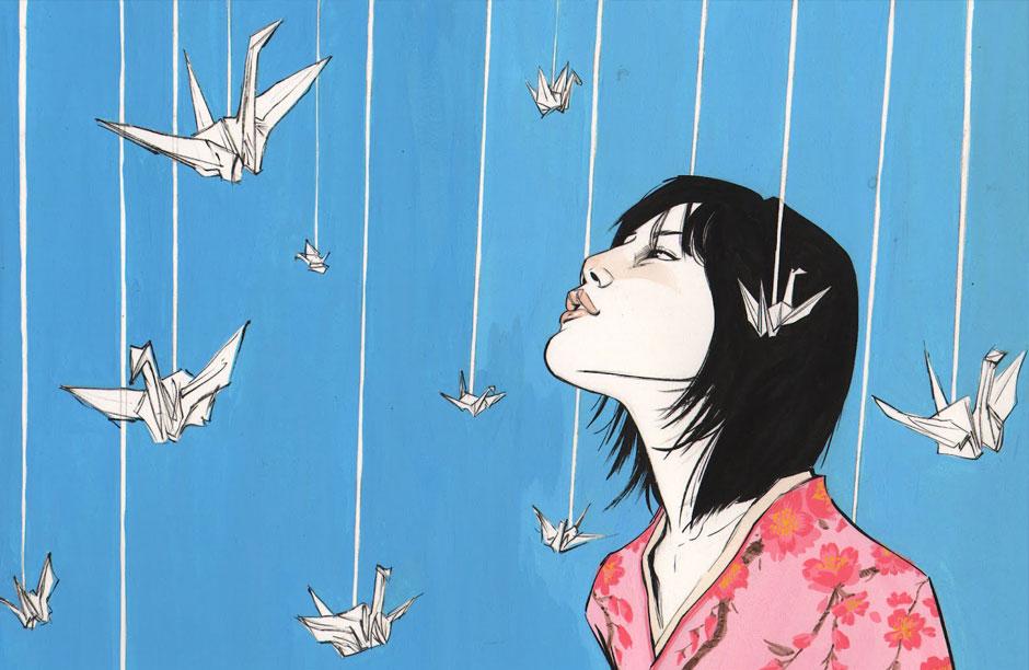 Behind the Scenes of History: Sadako & the Thousand Paper Cranes