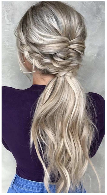 ponytail with bangs