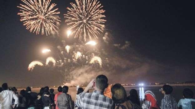 EID AL FITR FIREWORKS EVENT IN RIYADH