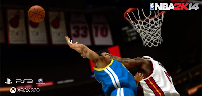 NBA 2K14 Blockable Dunks New Feature