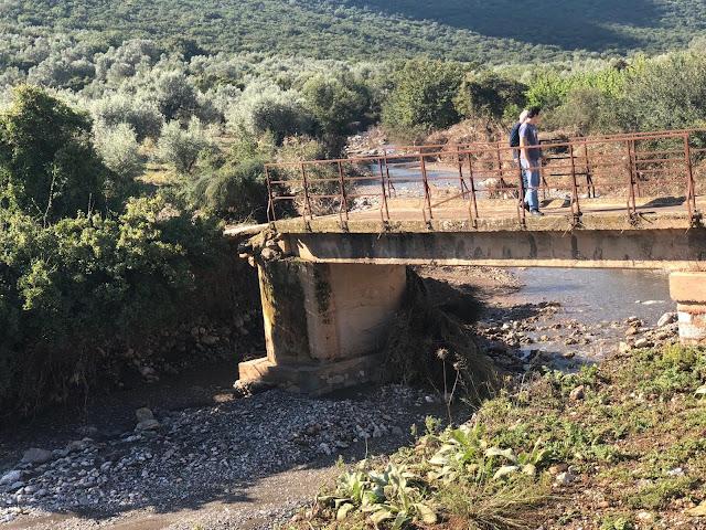 Άμεσες οι ενέργειες του Δήμου Άργους Μυκηνών: Κλιμάκιο μηχανικών στις ζημιές στα γεφύρια Σχινοχωρίου και Καπαρελίου