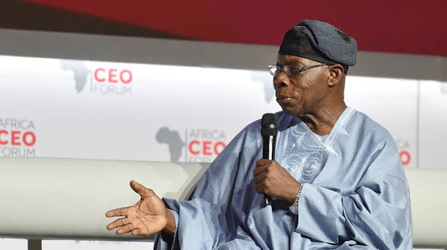15Years After The Death Of His Wife, See Recent Photos Of Olusegun Obasanjo
