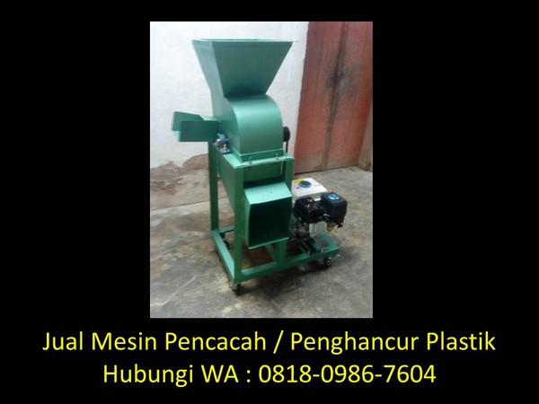 mesin pencacah plastik penggiling molding di bandung