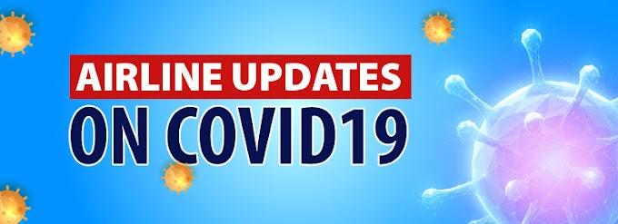 Airlines Advisory On Coronavirus - Airline Policies:COVID19