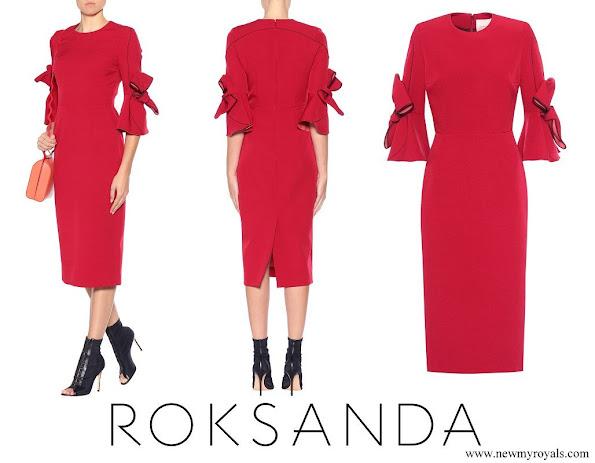 Countess Sophie wore ROKSANDA Lavete dress