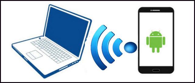 أسهل طريقة لتشغيل ومشاركة انترنت الهاتف على الكمبيوتر بدون برامج USB tethering