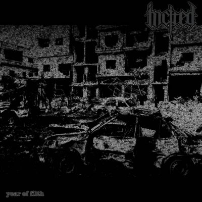 Incited - Year Of Filth - Album Download, Itunes Cover, Official Cover, Album CD Cover Art, Tracklist