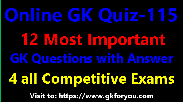 GK in Hindi Questions Part-115