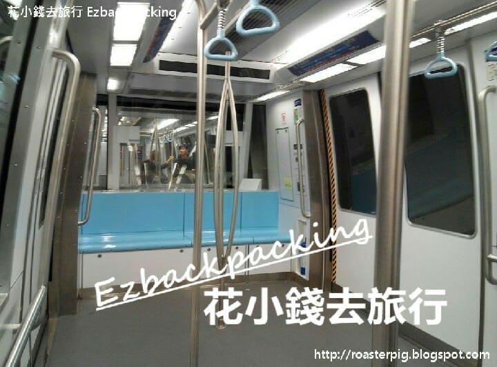 香港國際機場無人列車環境