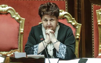 Italian minister under fire for shedding tears for migrants