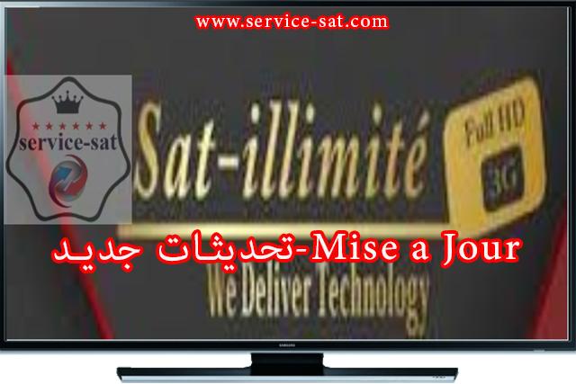 تحديث جديد  SAT ILLIMITE X350  HYPER