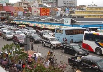 Đường trong Chợ PhSa-Thmey