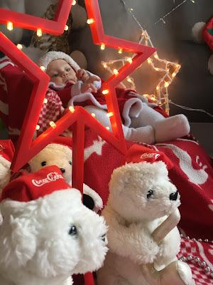 świąteczna sesja dla dzieci