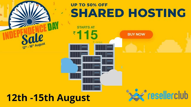 GET 50 % Offer on Hosting offer on  Resellerclub