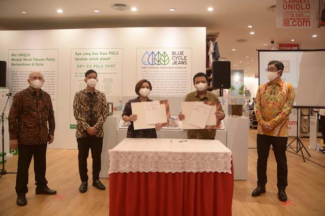 Sinergi Dalam Pengembangan UKM Lokal, UNIQLO Indonesia Jalin MoU dengan Kemenkop-UKM
