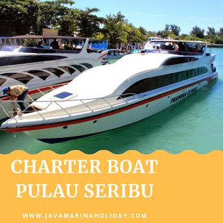 Promo Charter Boat Marina Ancol