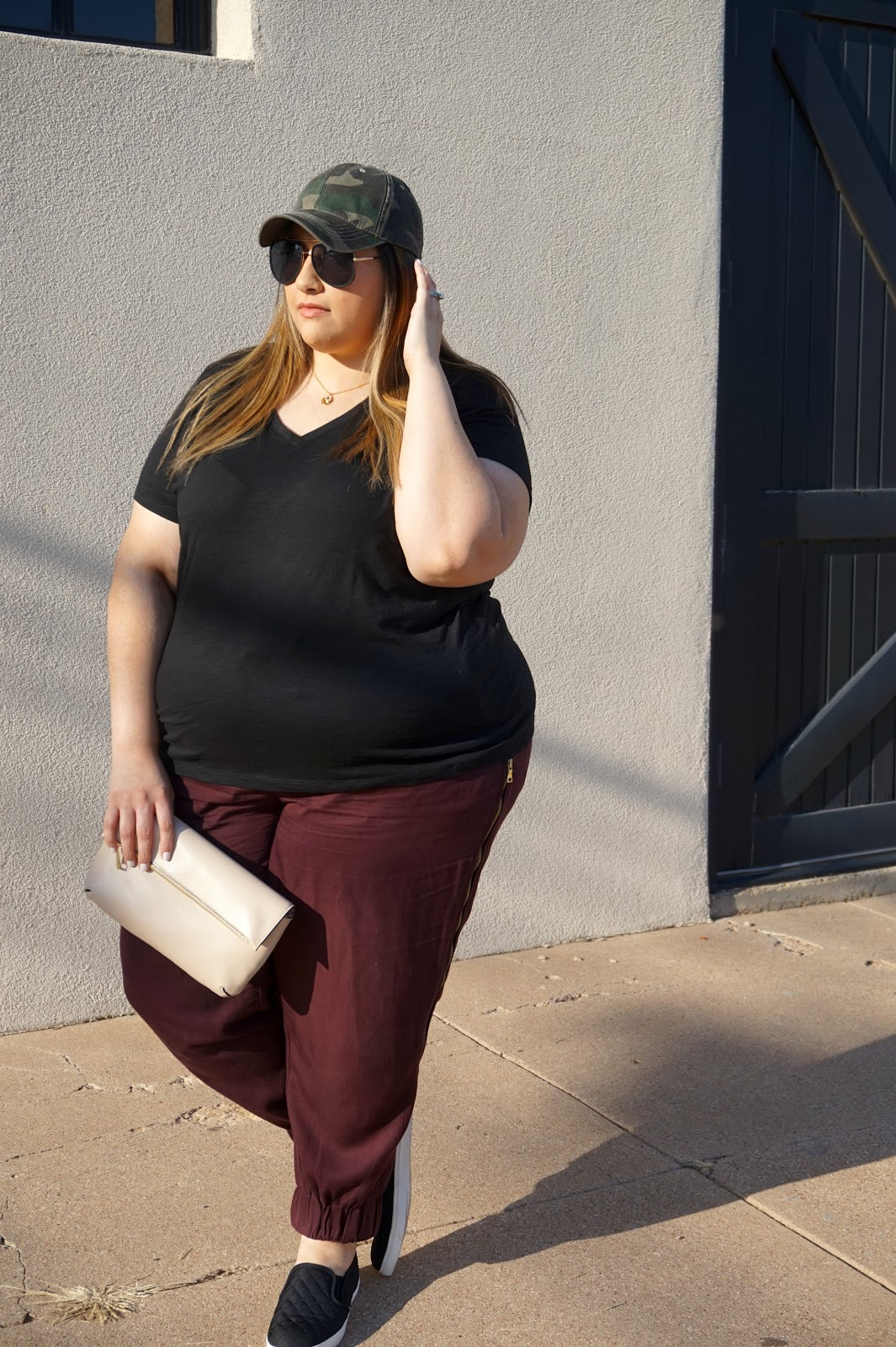 Plus Size Fall Edgy Outfit // Beauty With Lily - A West Texas Beauty, Fashion & Lifestyle Blog