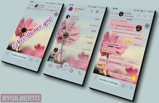 Alone Flowers Theme For YOWhatsApp & Fouad WhatsApp By Gilberto