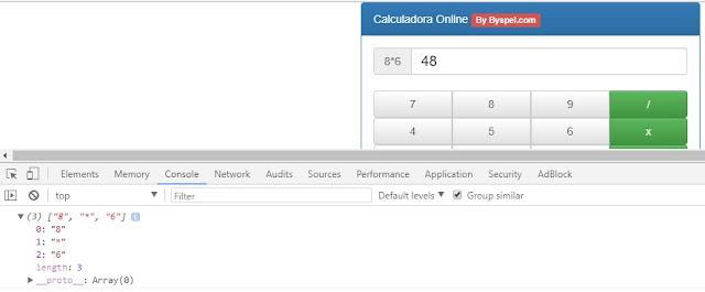 Calculadora con JavaScript