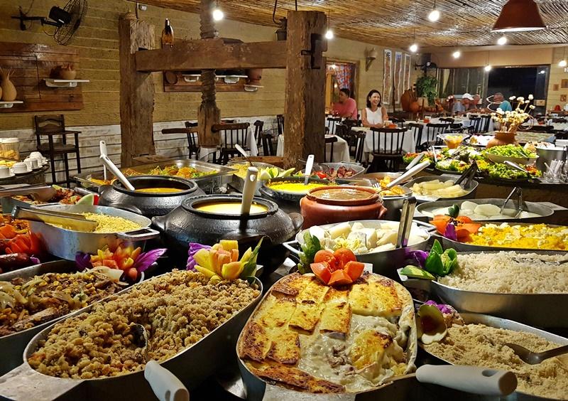 Restaurante de comida típica em Maceió